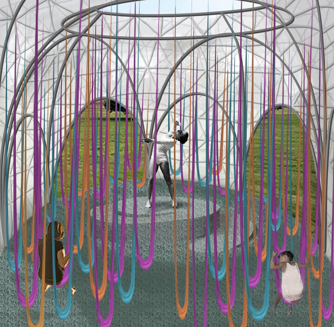 Swoosh katherine tincher design - Homes built from recycled materials nasas outer space challenge ...