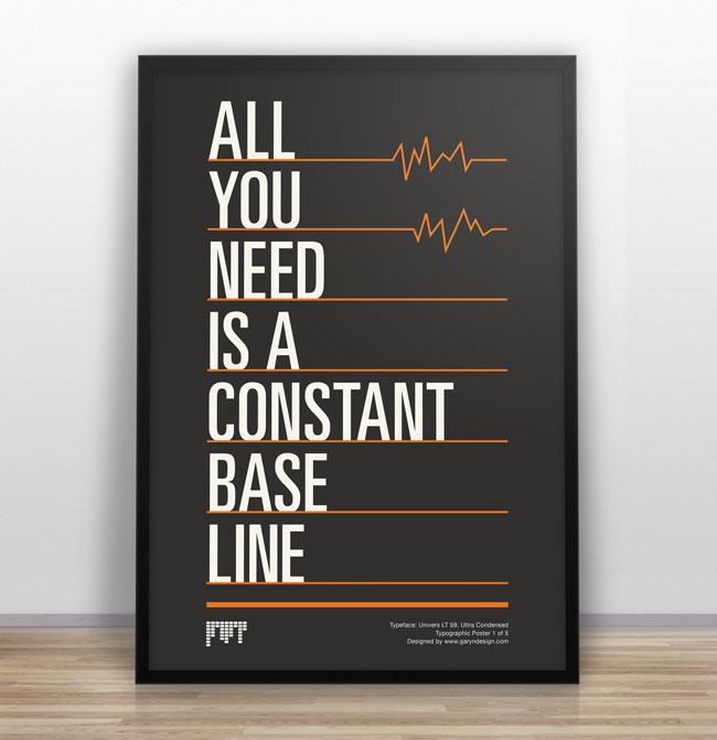 typographic joke posters gary nicholson graphic design