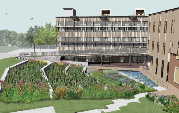 sewage treatment plant design project pdf
