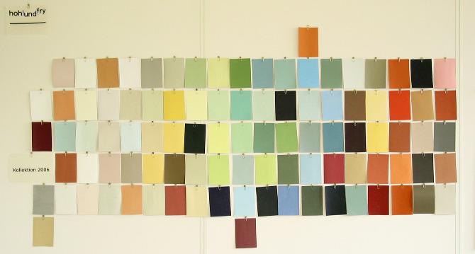 farbkollektion hohl und fry farbgestalter gmbh. Black Bedroom Furniture Sets. Home Design Ideas